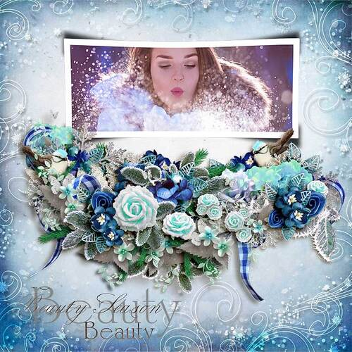 Once Upon A Time Ice Queen by dentelle scrap