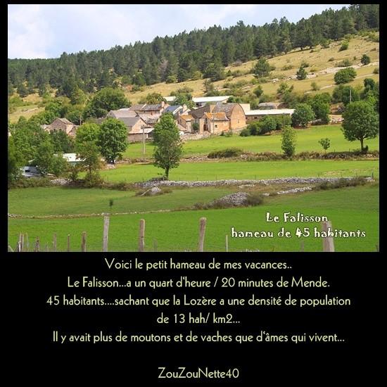 LOZERE LE FALISSON N ° 1
