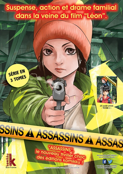 MANGA | Assassins #1