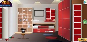 Jouer à Red room escape
