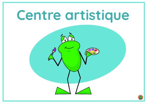 Le centre artistique