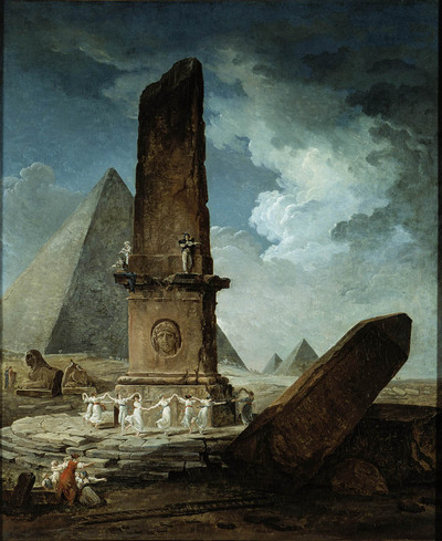 Hubert Robert au Louvre : un vrai régal !