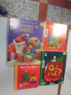 livres sur thème Noel