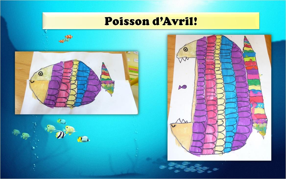 Printemps poisson d 39 avril maternelle cp ce1 laclassedelena - Poisson avril maternelle ...