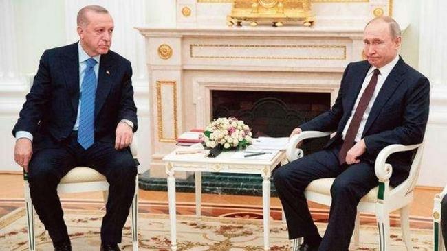 Poutine et Erdogan concluent une trêve en Syrie