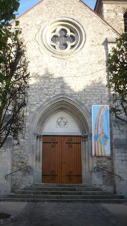 l'église de Chennevières