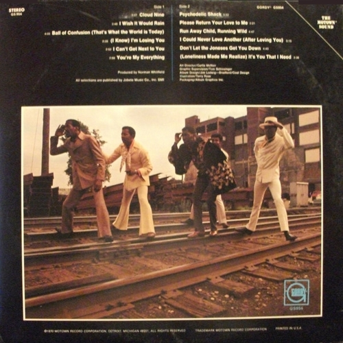 "The Temptations : Album "" Greatest Hits Vol. 02 "" Gordy Records GS 954 [ US ]"