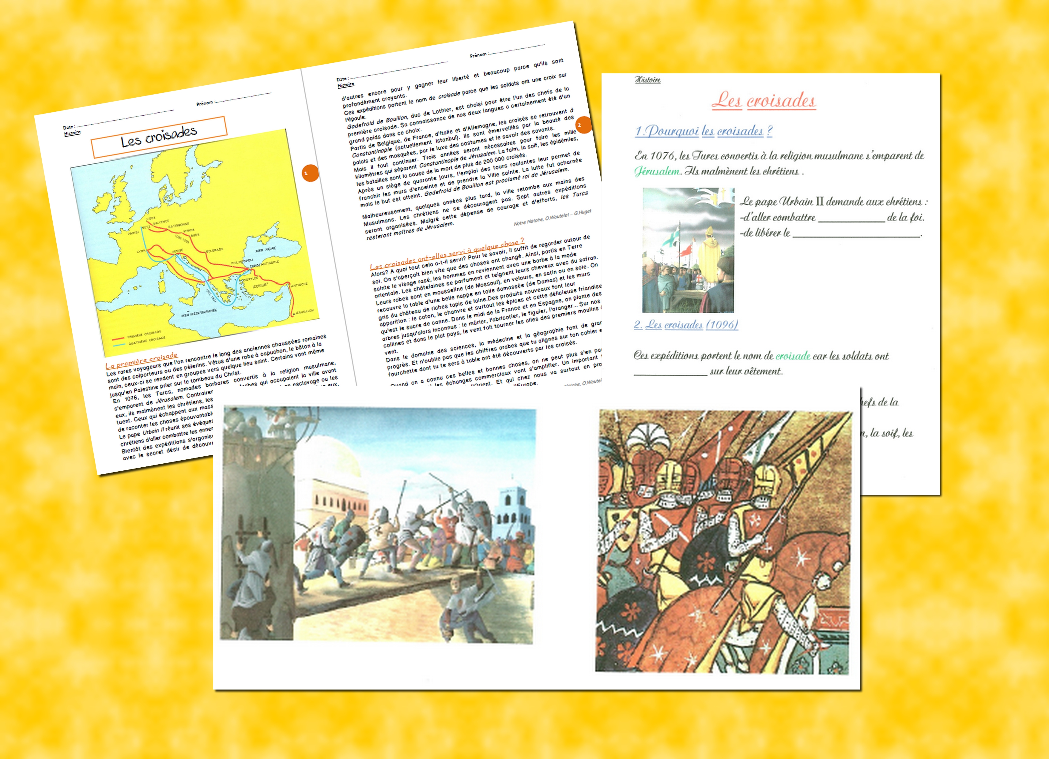 presentation croisades