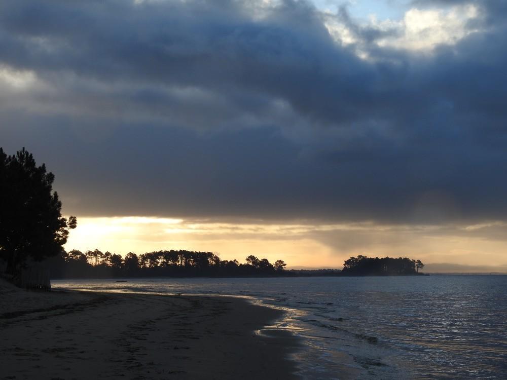 Lever de soleil du 4 février 2018...