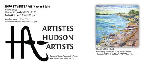 Exposition d'automne des Artistes de Hudson