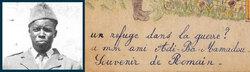 Addi Bâ Mamadou, résistant guinéen des Vosges