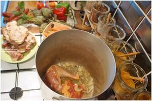 Recette Couscous mouton et Poulet