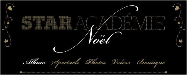 Micro-site de Star académie pour l'album et les spectacles de Noël