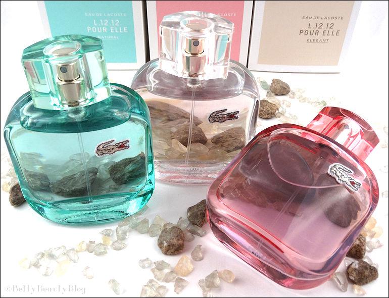 L12.12 les nouveautés parfumées de Lacoste