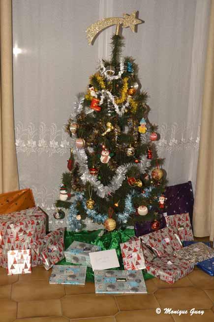 Repas en famille et cadeaux