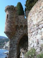 Randonnée château de La Napoule (06)