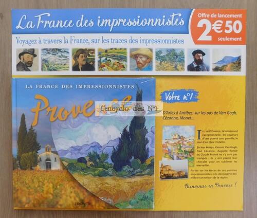 N° 1 La France des impressionnistes - Lancement