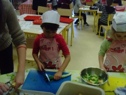 la soupe de légumes