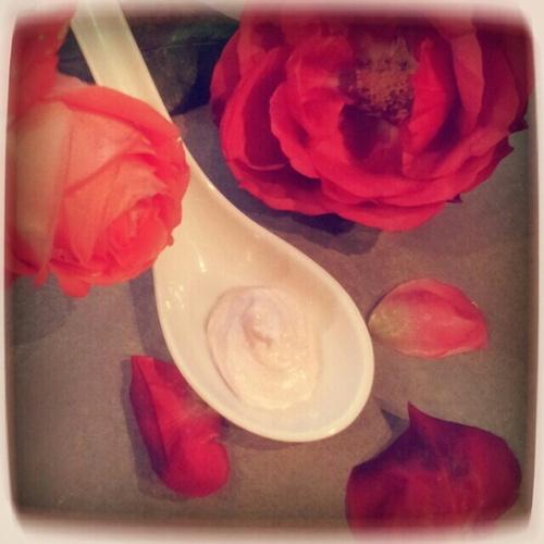 Test MaCosmétoPerso * Beurre de Karité * - Chantilly de Karité à la Rose
