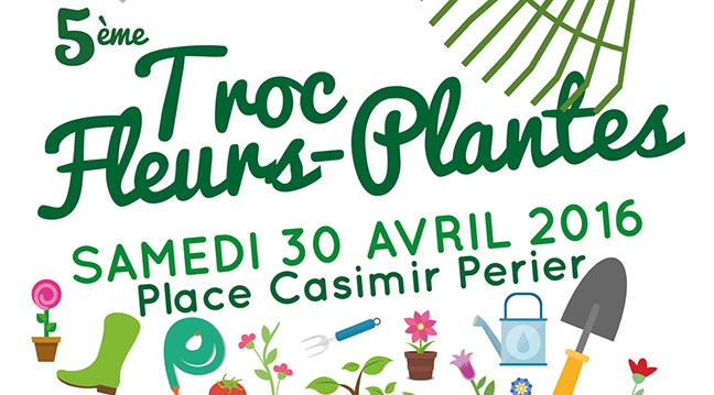 Troc de plantes, le 30 avril à Wallers