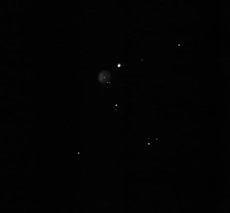 Fe4 planetary nebula