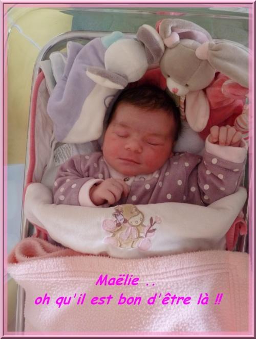 Maëlie...voilà l'écriture exacte!!..belle journée..yessssss