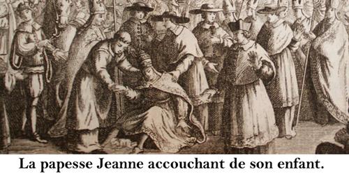 Le scandale de la papesse Jeanne