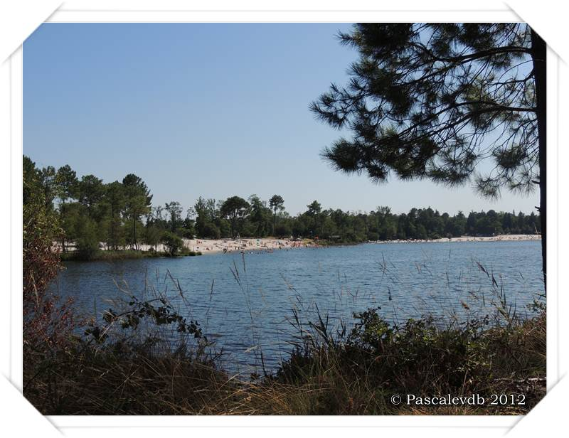 Les lacs de Lamothe, Bernadas et grand Bernadas à Hostens - 4/7