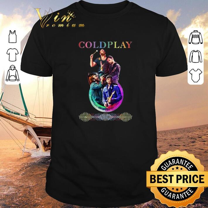 Funny Coldplay 2012 Visual Art shirt