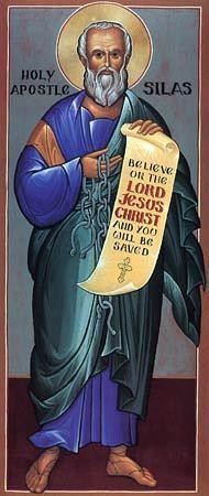 Saint Silvain ou Silas. Disciple de saint Paul (1er s.)