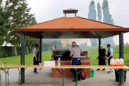 11 juin 2016 - Barbecue à la halle de Boulaines