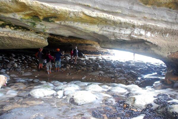 La première grotte