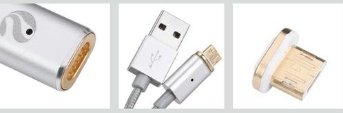 Entre votre mobile & son câble de charge, c'est magnétique !