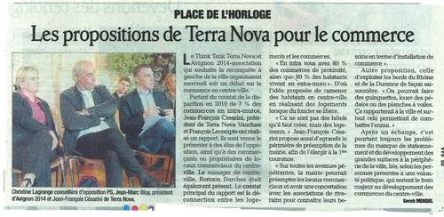 La Presse: Réunion commerce du 9 mai