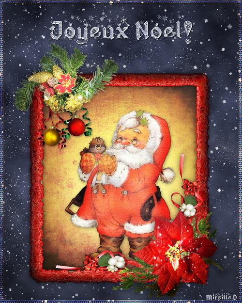 Carte N°2 pour un Joyeux Noël