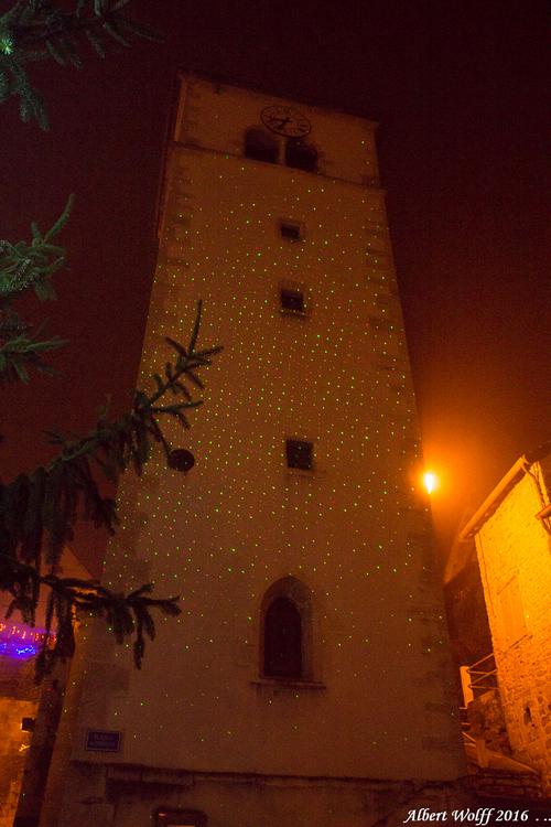 Un soir de décembre à Sellières.