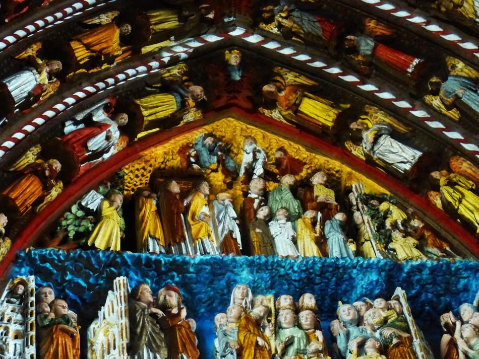 Reconstitution des couleurs de la Cathédrale d'Amiens