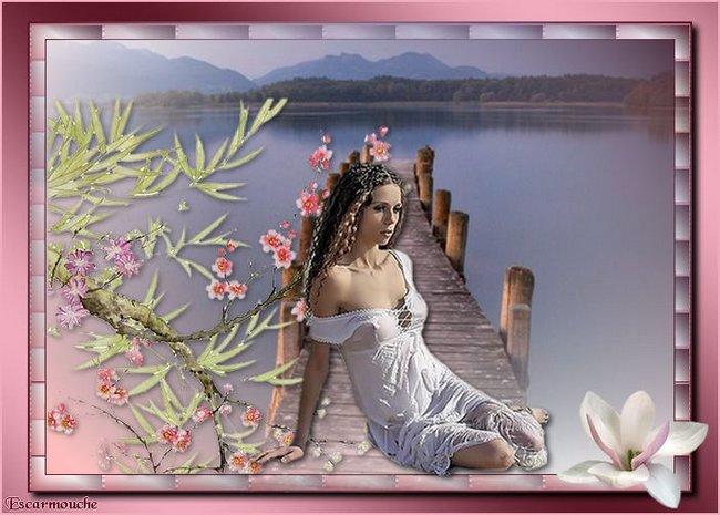 Rêverie au bord du lac