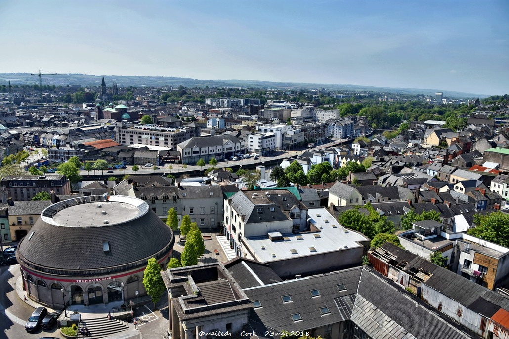Cork - Irlande - Vue de haut