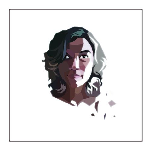 Autoportrait géométrique