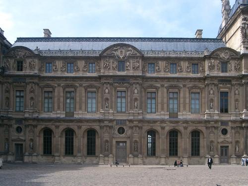 Louvre, le verseau s'ouvre