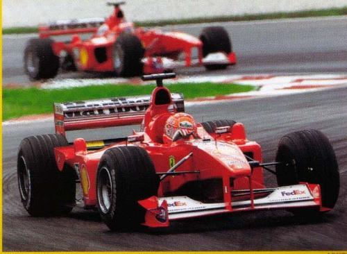 2000 - Scuderia Ferrari Marlboro - Saison 2000