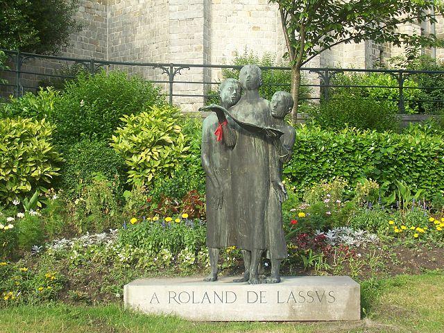 Roland de Lassus Orlando di Lasso,Renardeau,Hommage,Roland de Lassus ,MONS, ville ,chantre ,paroisse ,Saint Nicolas  , Havré