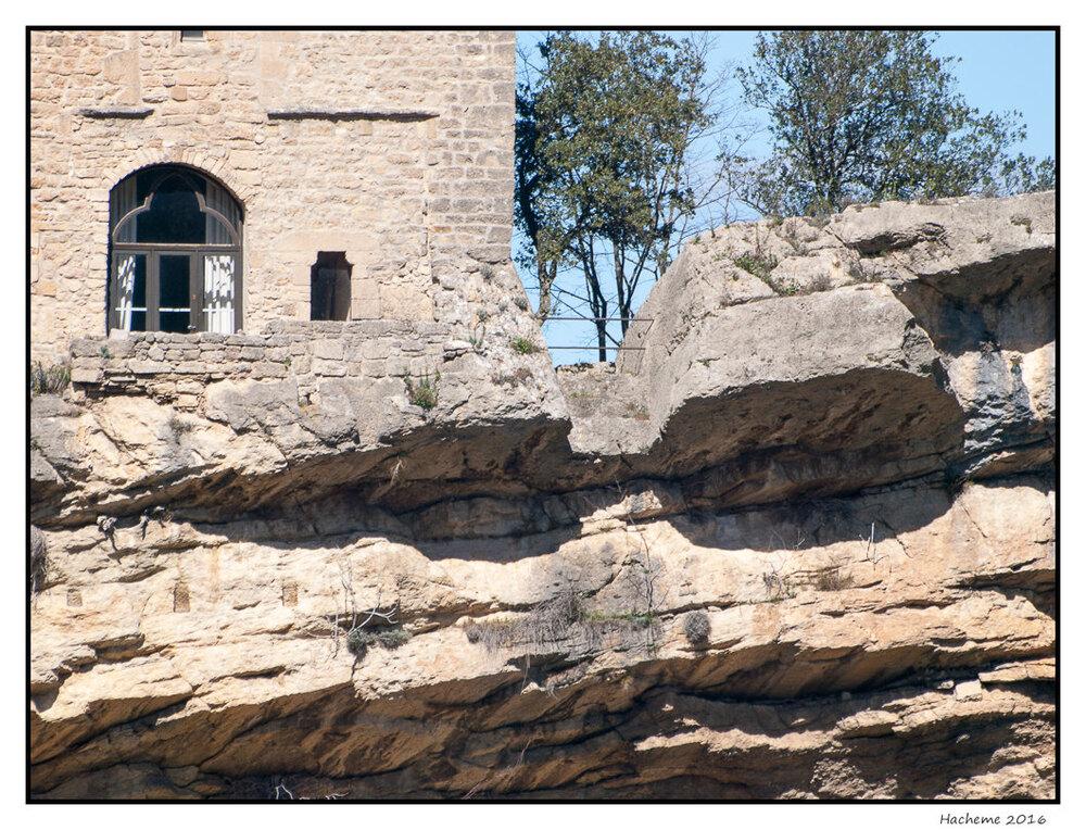 Fort supérieur, façade sud
