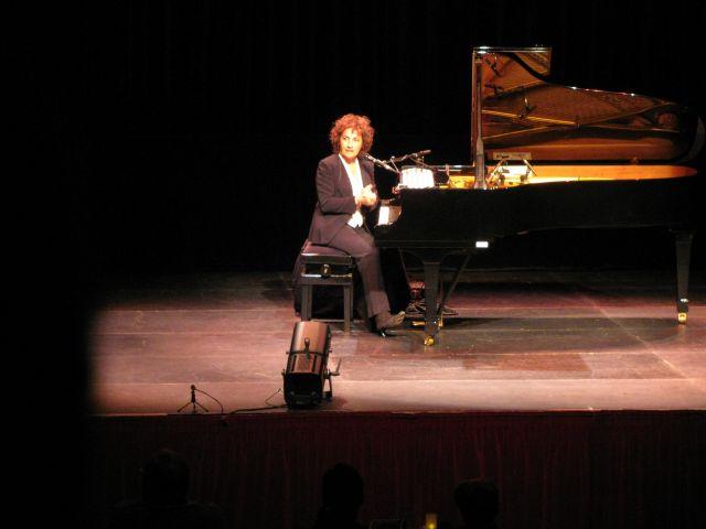 Dimanche 19 octobre 2008, Concert de Marie Paule Belle à la Traverse de Cléon