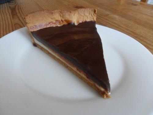 *** Tarte au yaourt, ricotta et chocolat ***