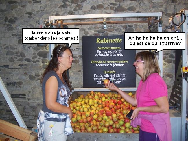 ah les pommes