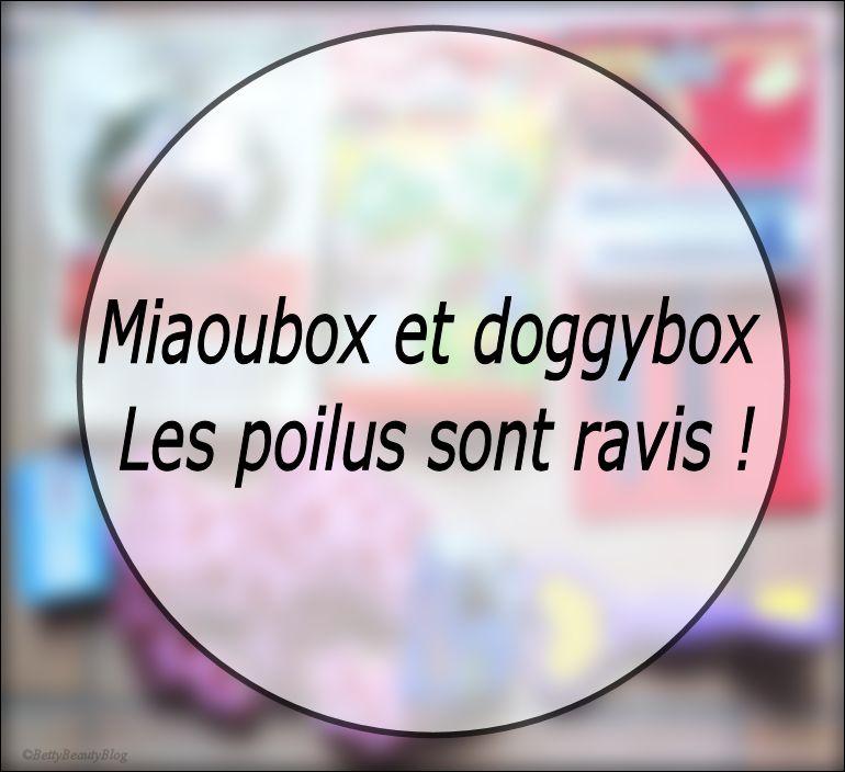 Miaoubox et doggybox tout le monde est content !