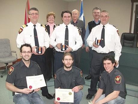 Distinctions et remise de diplômes au Service Incendie de La Guadeloupe-St-Évariste-St-Hilaire
