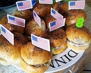 Mini burger  express, ultra moelleux